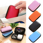 Headset Data USB Cable Travel Case Organizer Pouch Storage Bag 5 Color Portable