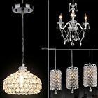 Modern Crystal Chandelier Ceiling Inane Pendant Lamp Fixture For Kitchen Bar