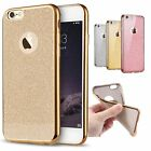 Bling Silicone Glitter ShockProof Case Cover For Apple iPhone 5S 6 6s 7 8 Plus X