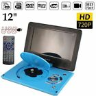 "12"" DVD EVD Player with HD Screen & TV Player Card Reader & USB Game 9030 HP"