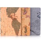 For iPad 2 3 4 Mini Air 1 2 Pro 97 105 129 2017 Case World Map Leather Stand