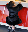 Fur Thicken Cotton Winter Warm Slim Fit Girl Fashion Sweet Mid Long Coat Leather