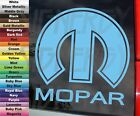 MOPAR m Logo Plymouth Dodge Chrysler Imperial Car Vinyl Decal Sticker Sz CHOICE $4.9 USD on eBay