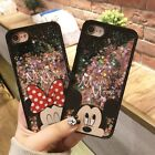 Liquid Glitter Hearts Bling Moving Minnie Mickey Case Cover For iPhone 6S 7 8 X