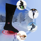 Electric Battery Heated Socks Feet Warm Heater Ice Fishing Foot Shoe Boot Pro
