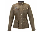 Triumph Motorcycles Women's Waxed Cotton Barbour Jacket MLTA15121 $630.14 CAD on eBay