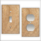 Travertine Pattern - Light Switch / Outlet Cover All Styles D0027