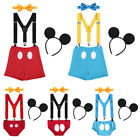 boy birthday outfits for babies - Suspenders Cake Smash Pants Outfits Clothes Birthday Mickey Mouse For Baby Boys