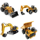 TOY RC Construction Dump Excavator Bulldozer Truck RTR Movable Lifting Arm