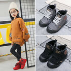 Cotton Shoes Unisex Winter Boys Girls Kids New Baby Warm Sports Plus Thick Boots