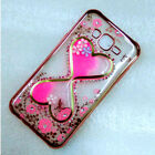 Bling Diamond Glitter Hourglass Quicksand Liquid Slim TPU Cover For Cell Phone