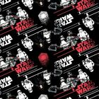 Star Wars Black First Order 100% Cotton Fabric £3.4 GBP