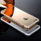 Luxury Ultra-Thin Mirror Soft TPU Phone Case Cover For Apple iPhone 6 /6S +Film