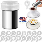 powdered sugar cornstarch - Stainless Chocolate Shaker Icing Sugar Powder Cocoa Flour Coffee Sifter Tool US