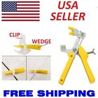 100-1000 Reusable Tile Leveling System Clips Wedges Wall Floor Spacers Tilling