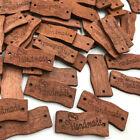 100pcs Wooden Brown Handmade Buttons Lot Craft/Kids Sewing Embellishment W426