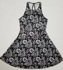 NWT ABERCROMBIE & FITCH WOMEN'S PATTERNED NEOPRENE DRESS SMALL, FREE SHIPPING!