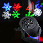 Projector Laser Landscape LED Wall Lamp Xmas Light Snowflake Moving SparklingJ