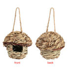 Straw Bird House Nest Parrot Hamster Small Pet Animals Cage Home Hanging Decor