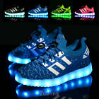 Led Kids Boys Girls Light Up Sneakers Baby Luminous Shoes Trainers Children Gift