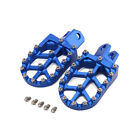 CNC Foot Pegs Pedals Rests Footpegs For Suzuki RMX250 DRZ400 RM125 Dirt Bike image
