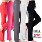 red dance pants - Women Soft Comfy YOGA Gym Exercise Fitness Dance Sport Trousers Athletic Pants