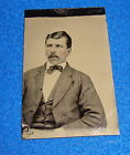 Vintage Tintype Photograph Man with Tie
