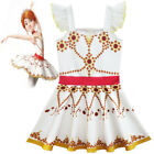 Внешний вид - 2018 New Girls Movie Ballerina Leap! Felicie Dress Costume Tutu Skirt Dress K105