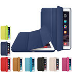 Leather Smart Case Ultra Thin  Stand Cover for Apple iPad 2 3 4 Mini Air 1 2 Pro
