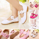 Stylish Toddler Girls Kids Wedding Party Dance PU Shoes Walking Shoes Sandals