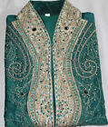 Teal  Designer Men Kurta set Medium  New arrivals 3Pieces