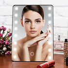 8/16/20 LED Light Makeup Cosmetic Vanity Mirror Tabletop Touch 10x Magnifying BP