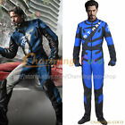 Iron Man 2 Tony Stark Cosplay Costume Motorcycle Uniform Halloween Outfits Cool