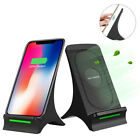QI Cooling Fan Smart Fast Wireless Mobile Phone Charger For Samsung Galaxy S8+