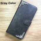 Harry Potter Deathly Hallows Wallet Leather Flip Stand Case Handmade For iPhone