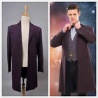 11th doctor female costume - Who is Doctor Eleventh 11th Dr. Purple Coat Cosplay Costume