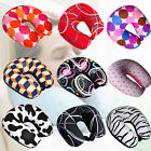 Microbeads Neck Pillow for Kids & Adults U Shape Travel Pill