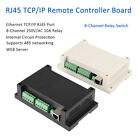 Ethernet TCP/IP RJ45 Port Remote Controller Board 8 Channels Relay Integrated LJ