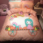 my little pony duvet cover - Twin & Queen Size My Little Pony Pink Duvet Cover Bedding Set Kids Girls Bedding