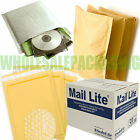 WHITE MAIL LITE / LITES PADDED BAGS / ENVELOPES 'ALL SIZES' EBAY CHEAPEST