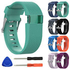 Stylish For Fitbit Charge HR Smart Watch Band Strap Silicone Bracelet Wrist Band