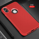 For iPhone X 7 8 Plus Luxury HQ Skid Resistance Shockproof Soft TPU Cover Case