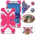 "US For Android 7"" 8"" Tablet Kids Safe Shockproof Rubber Soft Silicone Cover Case"