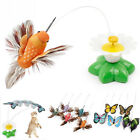 Внешний вид - Electric Rotating Butterfly Bird Rod Wire Cat Teaser Play Toy For Pet Cat Kitten