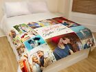 Custom Photo Blanket for Your Bed Personalized Gift Warm and Fully Customizable  image