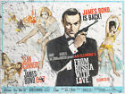 JAMES BOND 007 Vintage FROM RUSSIA WITH LOVE  Film Movie Art Print £6.95 GBP on eBay