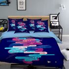 3D Test Tube 916 Bed Pillowcases Quilt Duvet Cover Set Single Queen UK Summer