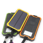 AU 50000mAh 2USB Solar Power Bank 6LED Battery Waterproof Charger For iPhone X