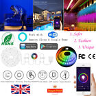 2M 4G Wifi RGB LED Strip Lights Smart Home Touch APP Control For iPhone Android
