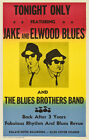 BLUES BROTHERS Concert Poster - Giclee Reproduction Full Colour Wall Art Print